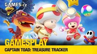 GamesPlay: Hrajeme sympatickou puzzle plošinovku Captain Toad: Treasure Tracker