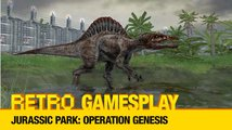 Retro GamesPlay – hrajeme tycoon Jurassic Park: Operation Genesis