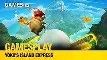GamesPlay - hrajeme pinballovou plošinovku Yoku's Island Express
