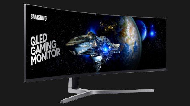 """Jak se hraje na ultra-wide zakřiveném monitoru? Test 49"""" Samsung C49HG90"""