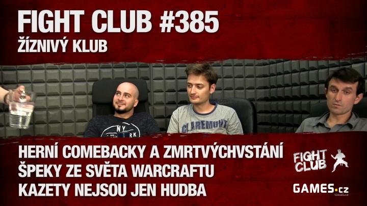 Fight Club #385: Žíznivý klub