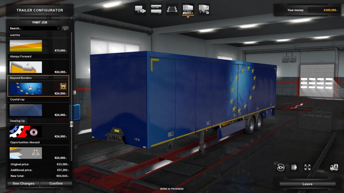 Příští update pro American a Euro Truck Simulator z vás udělá majitele návěsů