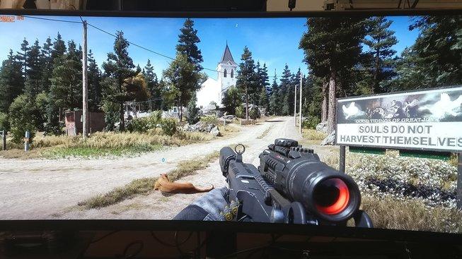 Far Cry 5: SDR vs. HDR