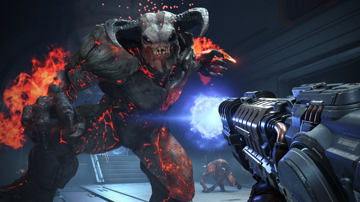 Doom Eternal koncem roku navštíví peklo i nebe s asymetrickým multiplayerem