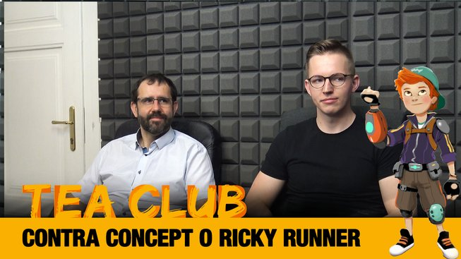 Tea Club Contra Concept Ricky Runner