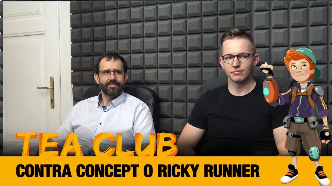 Tea Club #29: Contra Concept o parkourové skákačce Ricky Runner