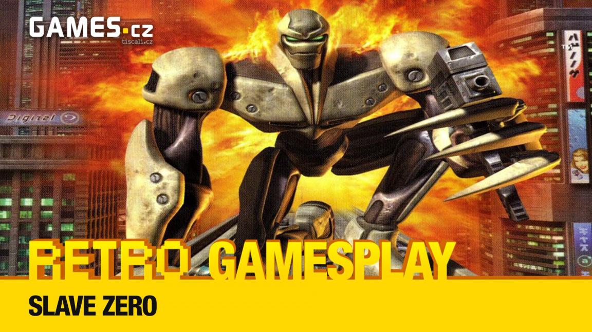 Retro GamesPlay – hrajeme za obřího robota v Slave Zero