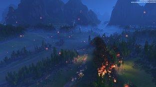 Lampionová noc a ukázkový ústup. Nový Total War předvádí další bitvu
