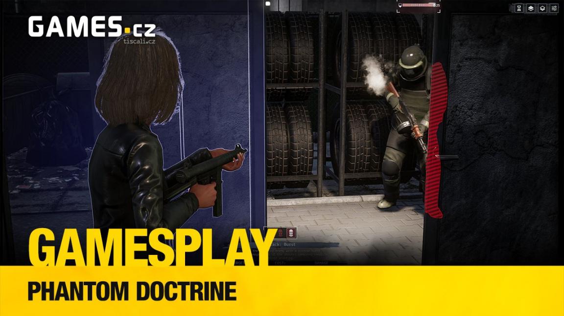 GamesPlay - hrajeme špionskou tahovku Phantom Doctrine