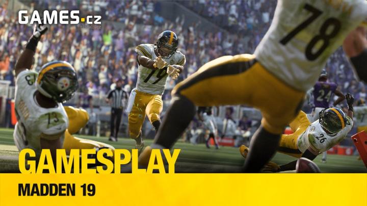 Čtenářský GamesPlay: Madden NFL 19