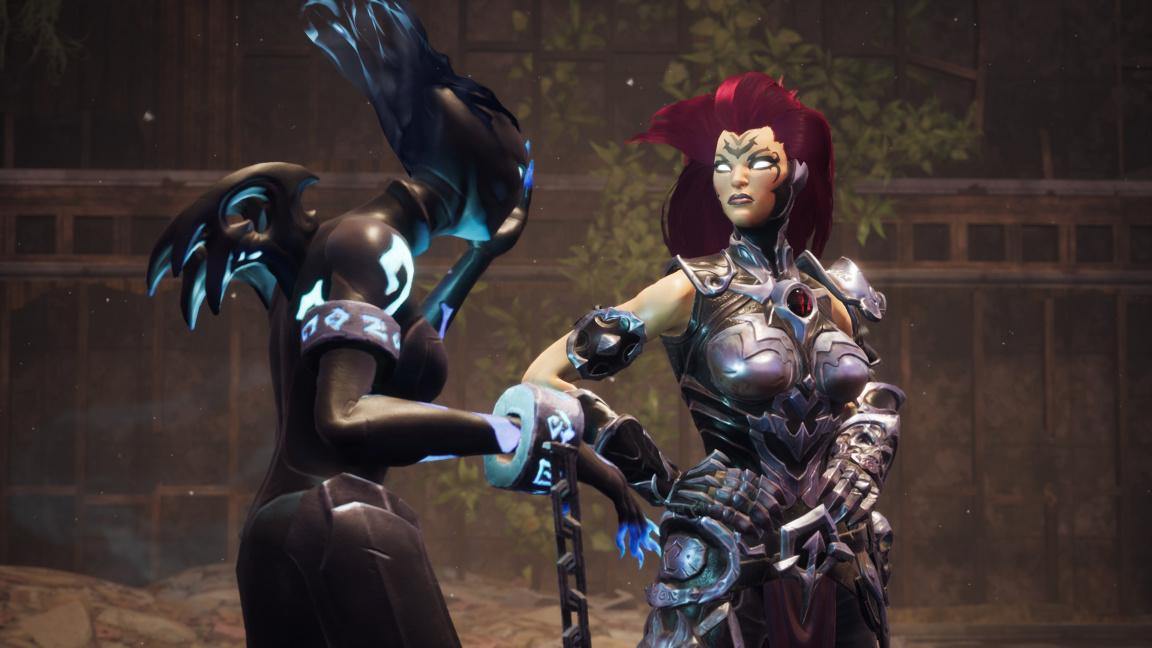 Jezdkyně Apokalypsy Fury z Darksiders III jde na kostlivce bičem i kladivem