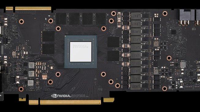 Plošný spoj grafické karty Nvidia generace GeForce RTX