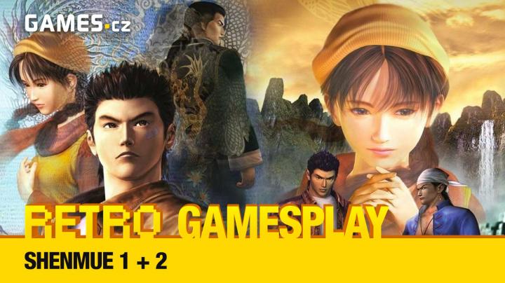 Retro GamesPlay - hrajeme kultovní Shenmue I + II