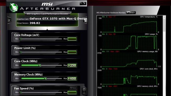 MSI GS65 OC proof