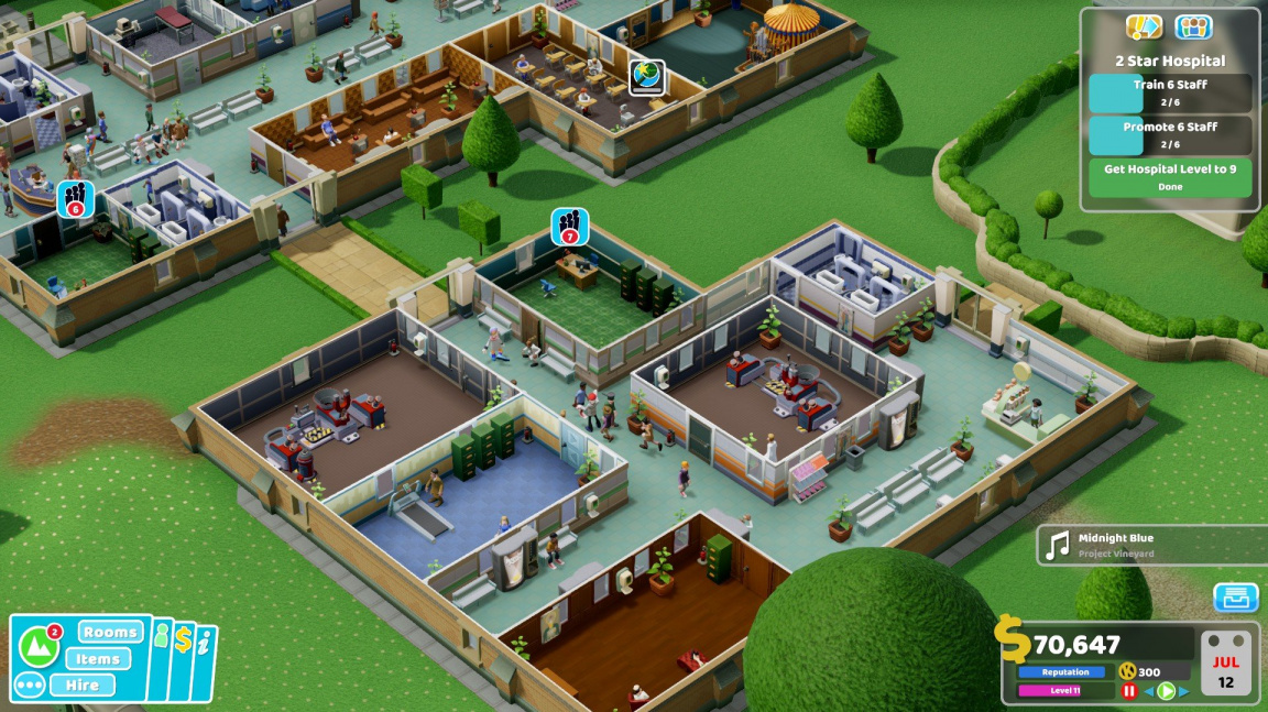 Two Point Hospital – recenze