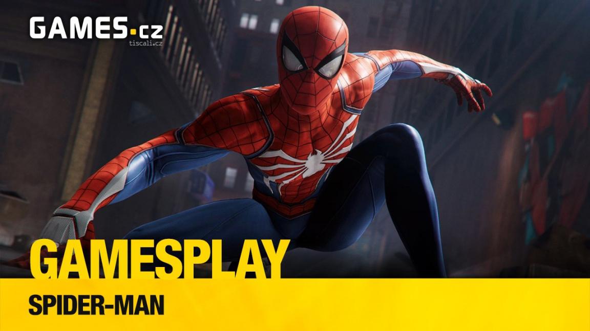 GamesPlay – hrajeme výborného Spider-Mana