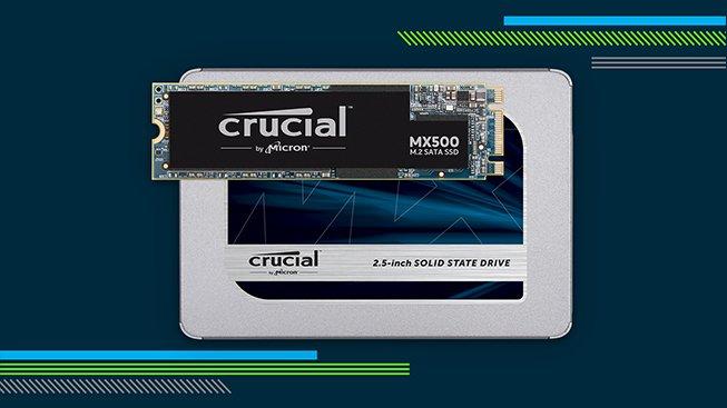 Spousta rychlého místa? To je SSD Crucial MX500 (Soutěž)