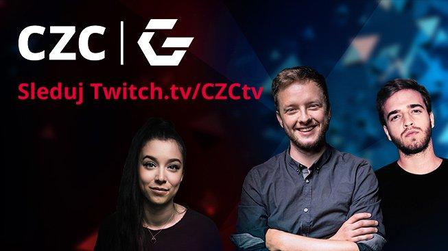 CZC.cz spouští vlastní twitch kanál se známými streamery