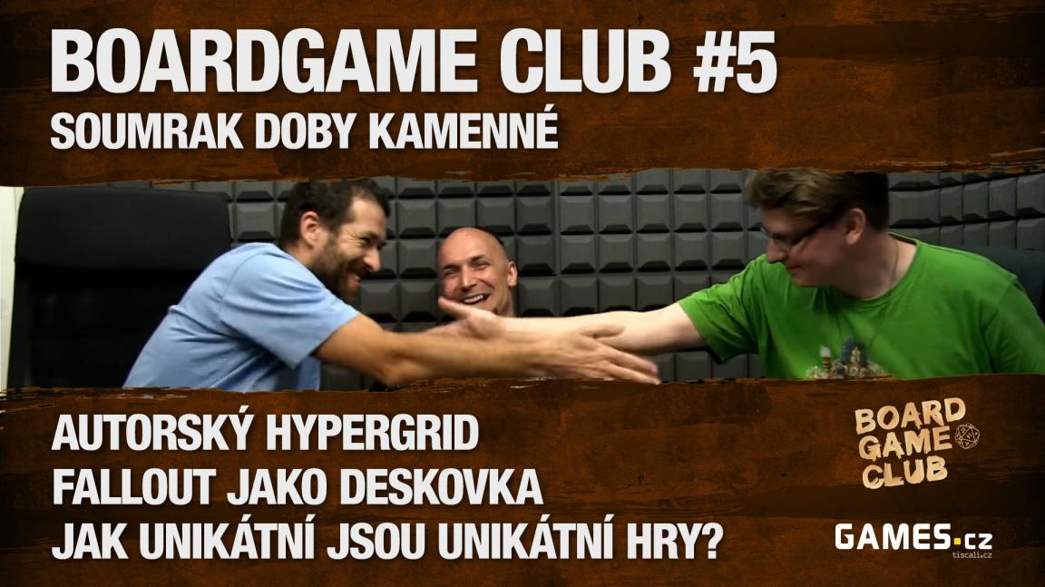 BoardGame Club #5: S Opčíkem nejen o Hypergridu