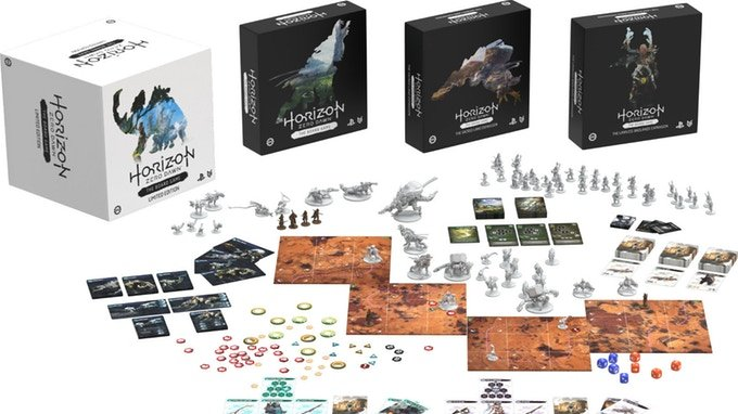 Deskovka Horizon Zero Dawn drtí Kickstarter. Opravdu stojí za to?