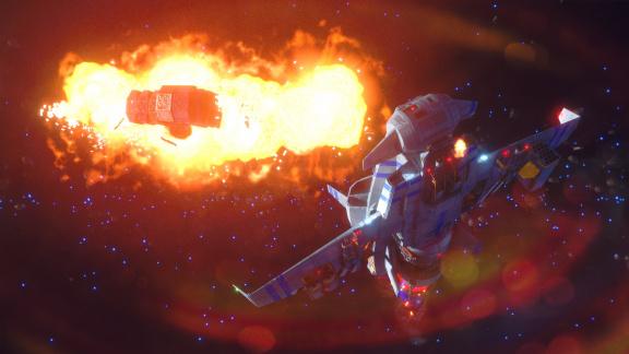 Rebel Galaxy Outlaw působí jako výbušnější verze Firefly
