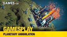 Čtenářský GamesPlay – hrajeme RTS Planetary Annihilation