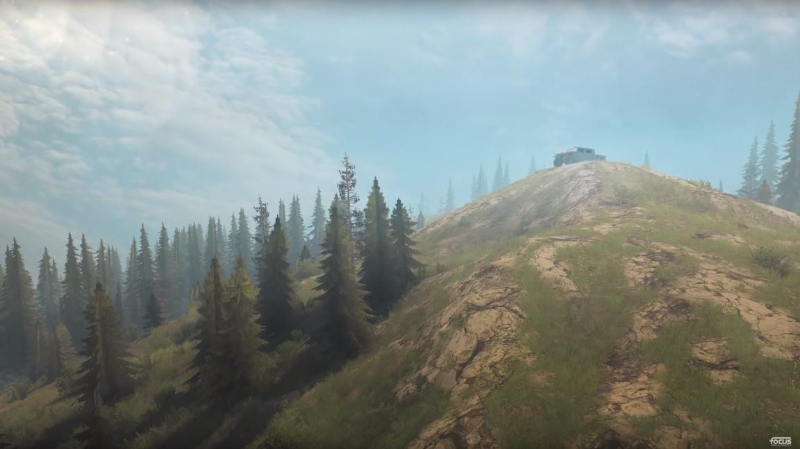Ve Spintires: MudRunner se podíváte do Ameriky v Hummeru, zatímco se pracuje na pokračování
