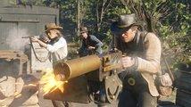 Sledujte přepadení banky v Red Dead Redemption II