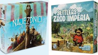 Jak se hraje ve dvou: Nájezdníci ze severu a Settlers: Zrod impéria