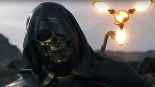 Trailer na Death Stranding představuje Troye Bakera jako muže se zlatou maskou