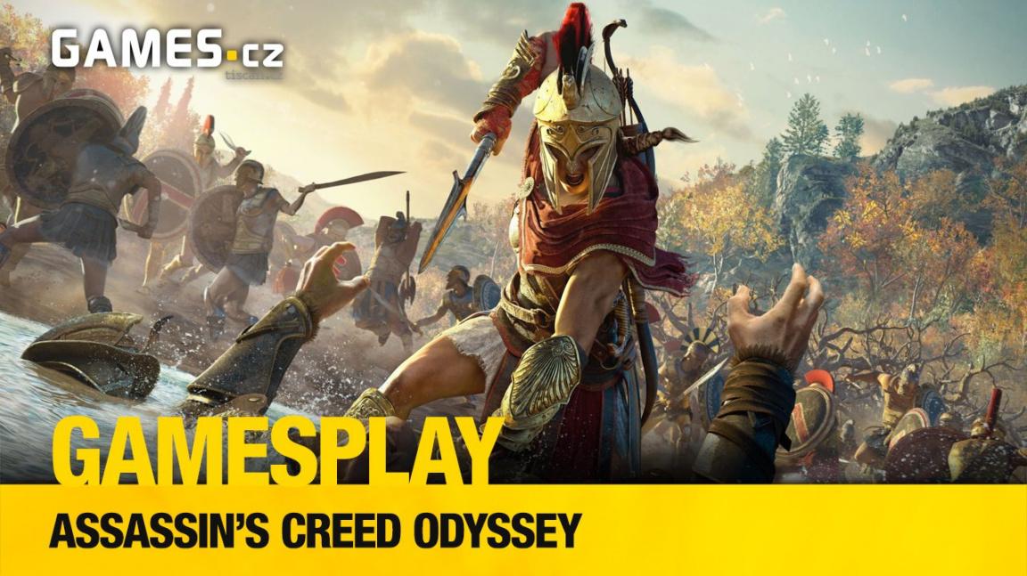 GamesPlay – hrajeme starořecké Assassin's Creed Odyssey