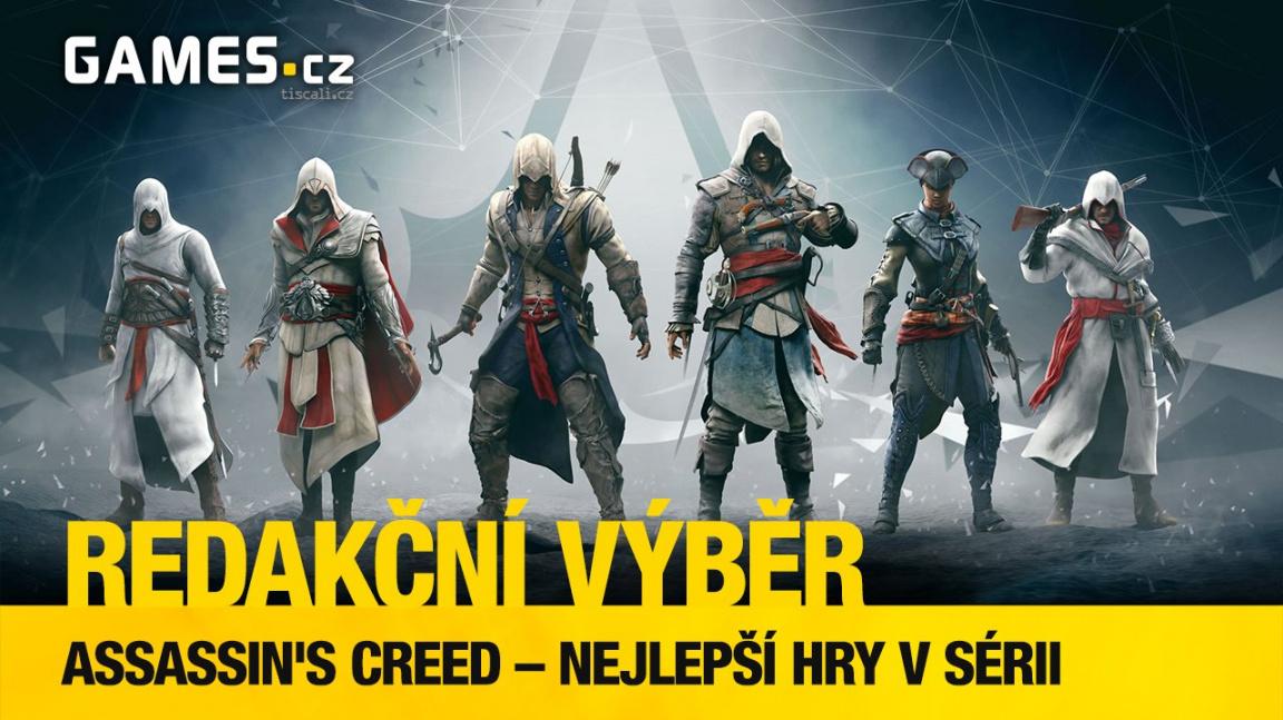 Nejlepší díly Assassin's Creed podle redaktorů Games.cz
