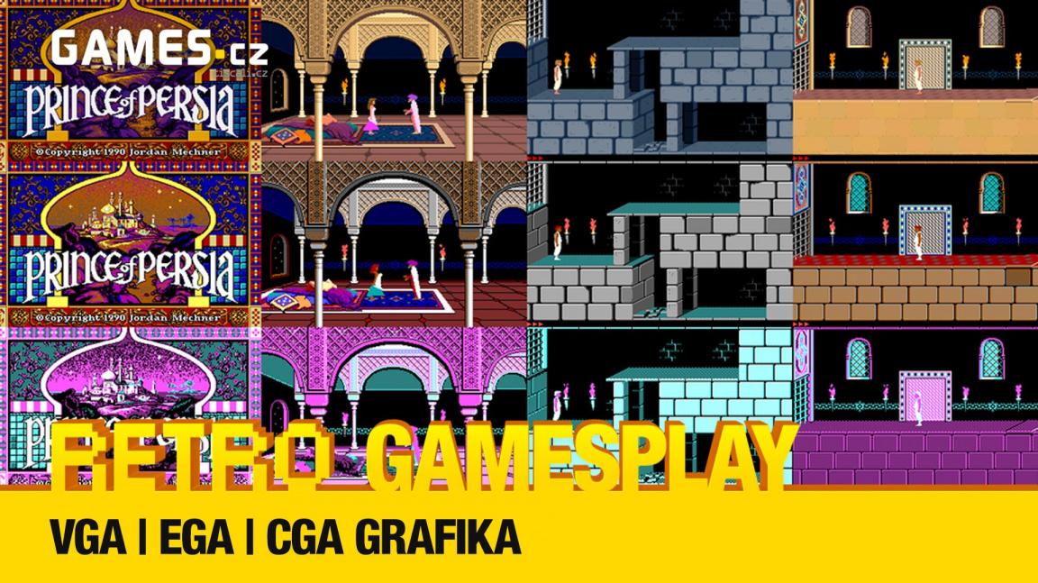Retro GamesPlay – CGA, EGA a VGA