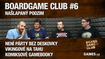 BoardGame Club #6: Našlapaný podzim