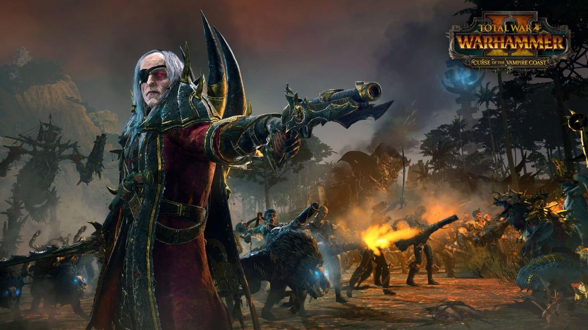 Total War: Warhammer II vezmou útokem upíří piráti