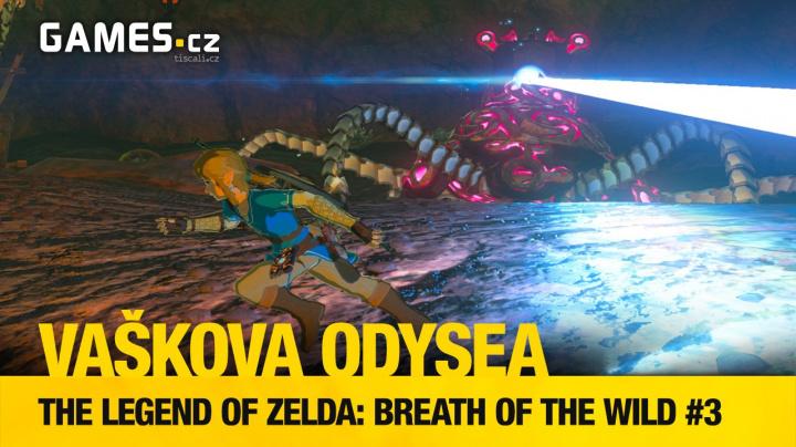 Vaškova odysea #3 - vyhrajte krabicovou verzi The Legend of Zelda: Breath of the Wild