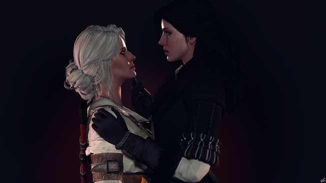 ciri_and_yennefer_by_rescraft-d98kzko