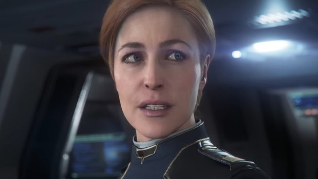 Star Citizen Gillian Anderson