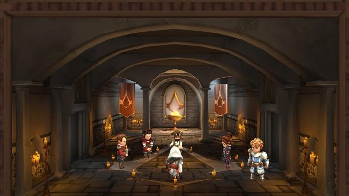 Na mobily se příští měsíc vkradou roztomilí vrahounci v Assassin's Creed Rebellion