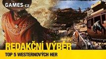 TOP 5 nejlepších westernových her podle redakce Games.cz