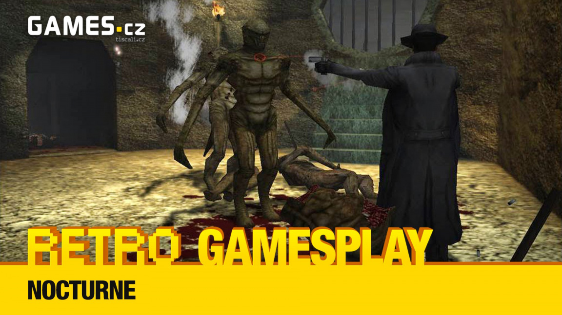 Retro GamesPlay – hrajeme hororovou adventuru Nocturne