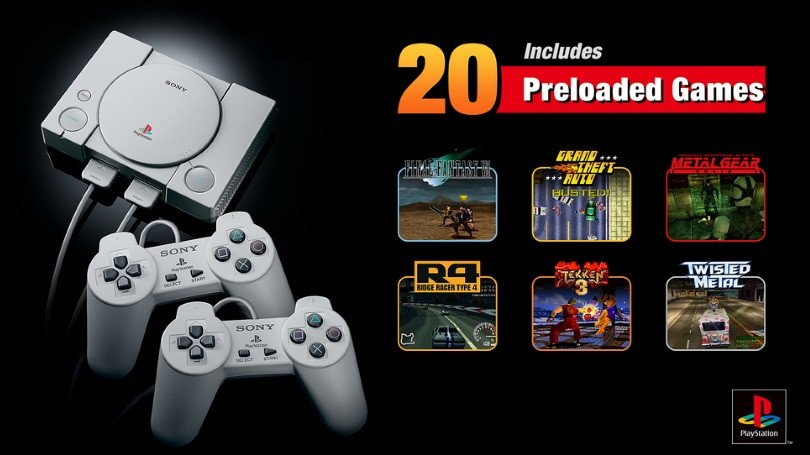 Sony odhalila všech 20 her pro retro konzoli PlayStation Classic