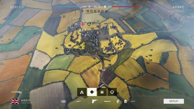 Battlefield V mapy