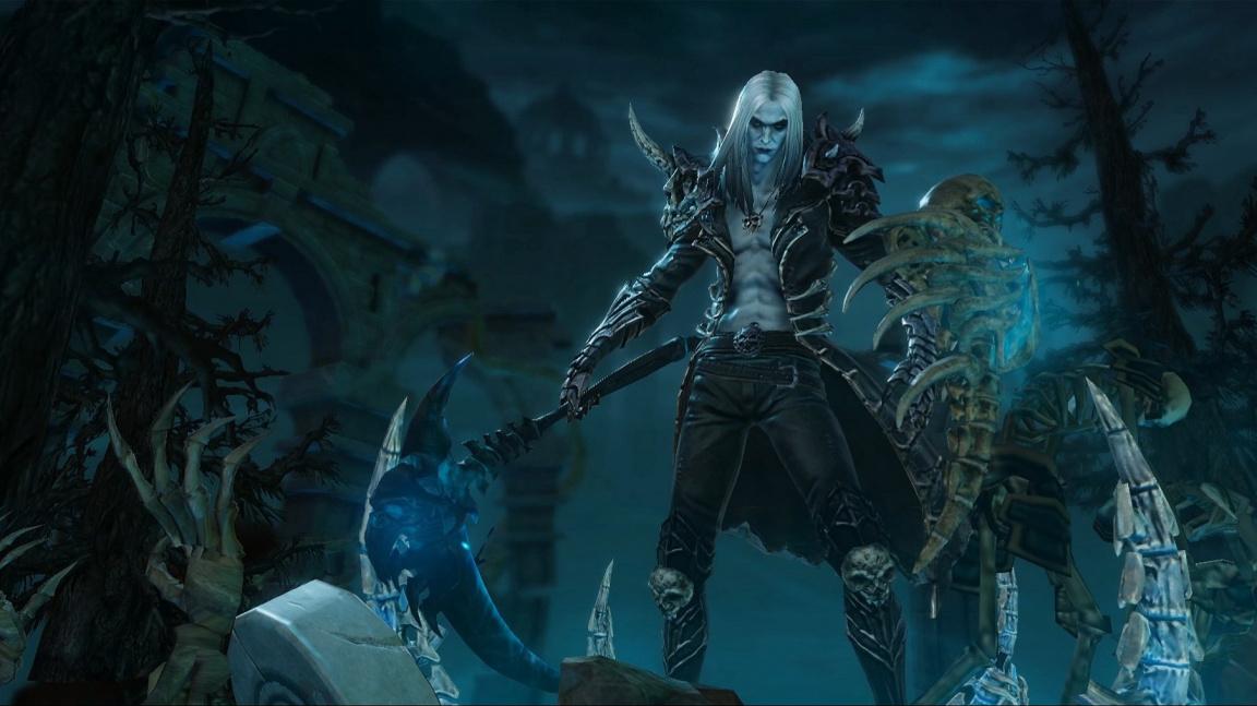 Diablo IV původně vypadalo jako akční RPG ve stylu Dark Souls