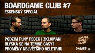 BoardGame Club #7: Essenský speciál