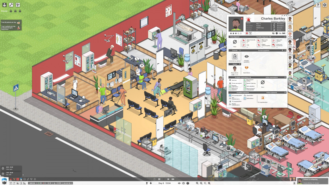 Project Hospital - recenze