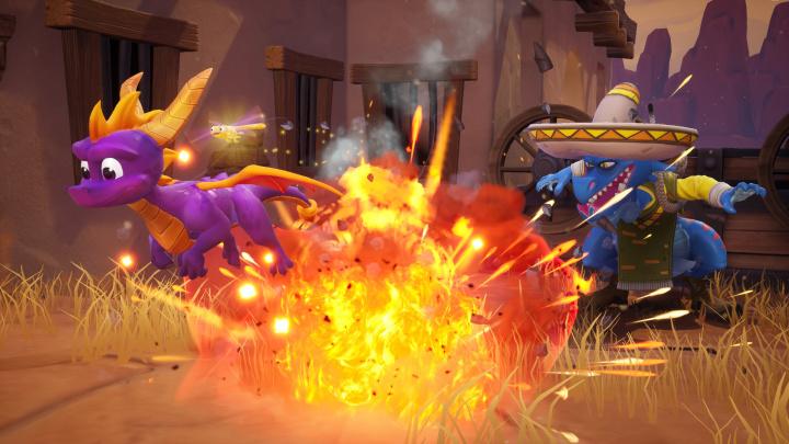 Na PS4 a Xbox One přiletěl dráček Spyro v novém kabátku