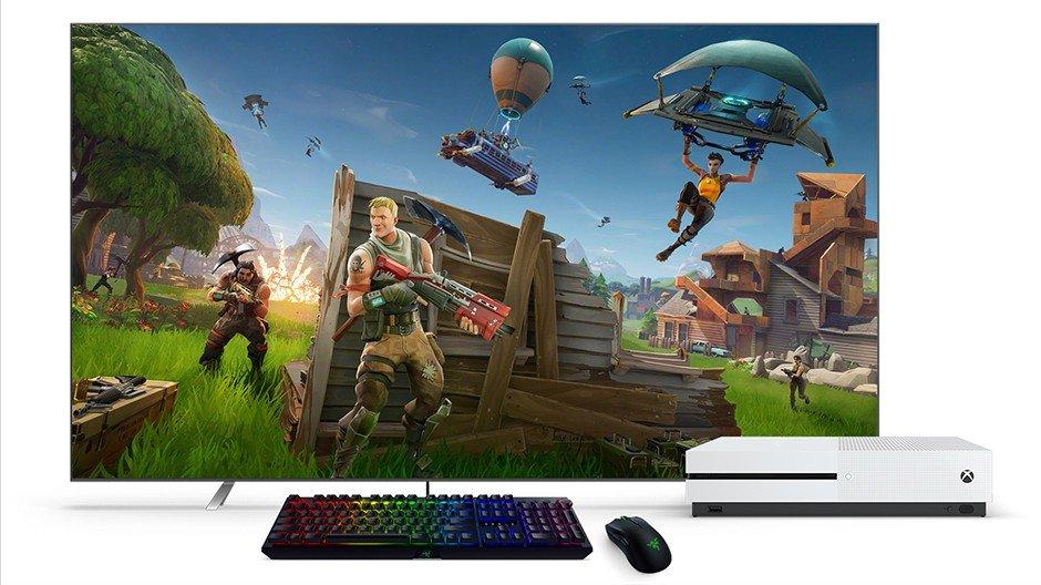 Podporu klávesnice a myši na Xboxu vykopává Fortnite, následovat budou i DayZ a Vigor