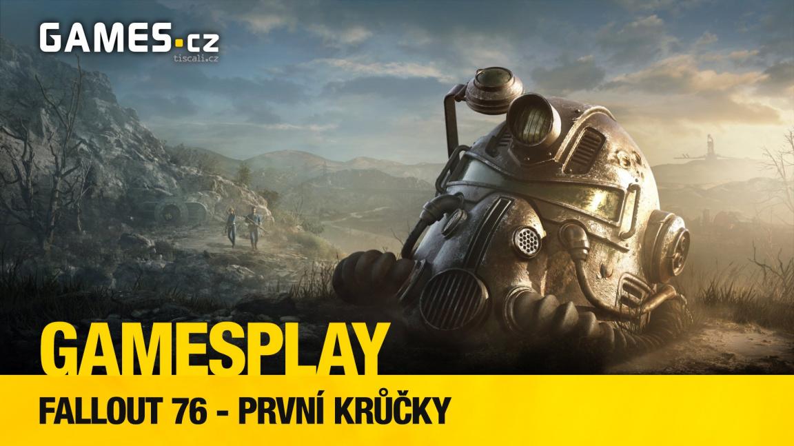 GamesPlay: první krůčky v kontroverzním Falloutu 76