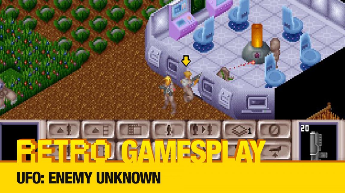 Retro GamesPlay - UFO: Enemy Unknown